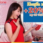 Mobifone khuyến mãi thẻ nạp trực tuyến